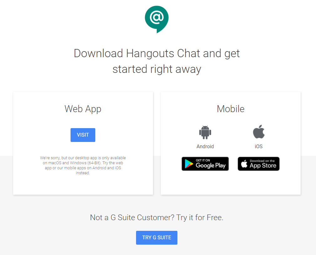 Google Hangouts Chat first review (after one week) | fcbrossard net